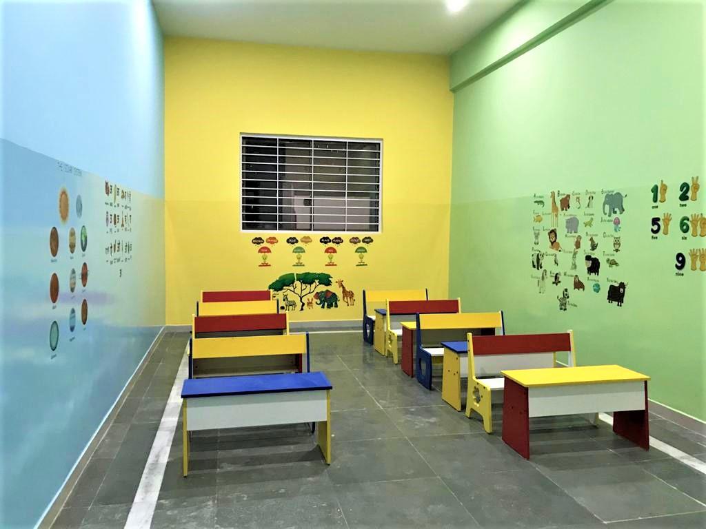 Sai Public School classroom for kids